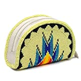 Coin Purse Beaded Clutch Wallet Inspired from Native American Beard work Pouch Bag VA-CP-04