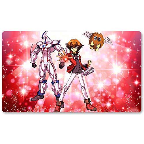 The GX Duelist Tapis de jeu de société Yugioh Tapis de jeu pour Yu-Gi-Oh 60 x 35 cm Pokémon Magic The Gathering