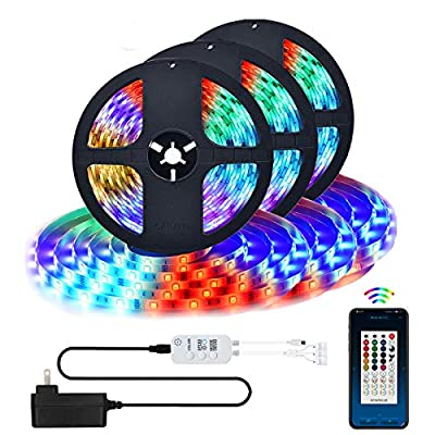 LED Strip Lights, Bluetooth App Controlled Colo...