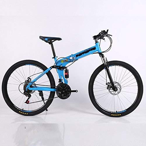 XXY 21 Velocidad de Bicicletas de montaña Adulto radios Llanta de montaña de la Bicicleta Plegable Bicicleta de montaña 24/26 Pulgadas Bicicletas for Aplicaciones en Exterior
