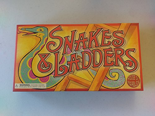 House of Marbles Vintage Snakes and Ladders