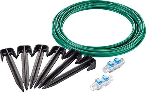 Kit de réparation Bosch - Accessoire pour tondeuse Indego (câble 10m, 20 cavaliers, 2 connecteurs de câbles)