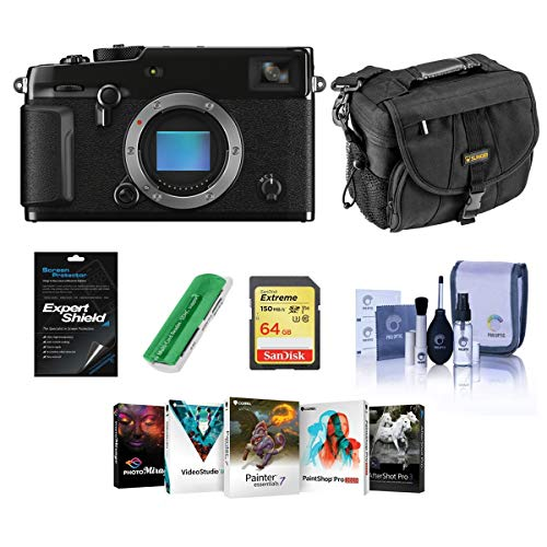 Find Bargain Fujifilm X-Pro3 Mirrorless Digital Camera, Black - Bundle with Camera Bag, 64GB Memory ...