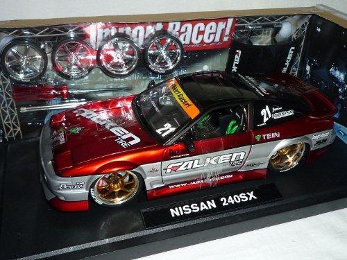 Jada Nissan 240sx 240-sx Rot Tuning 8 Fach Bereift 1/18 Modellauto Modell Auto