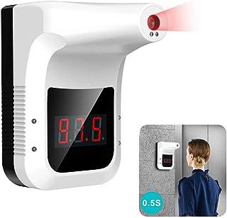 BASOYO Infrarot Thermometer zur Wandmontage, berührungsloses Hänge Thermometer für Büros, Geschäfte, Schulen Thermometer Körpertemperatur Scanner Kontaktloses Klinisches Thermometer