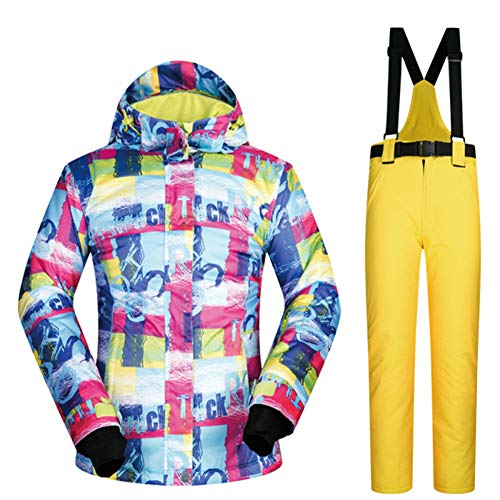 Heatile Ski Jassen en Broeken Waterbestendig Waterbestendig Oppervlaktelaag Stretchable Middelste Laag voor Sportcamping, skateboarden, zelfrijdend