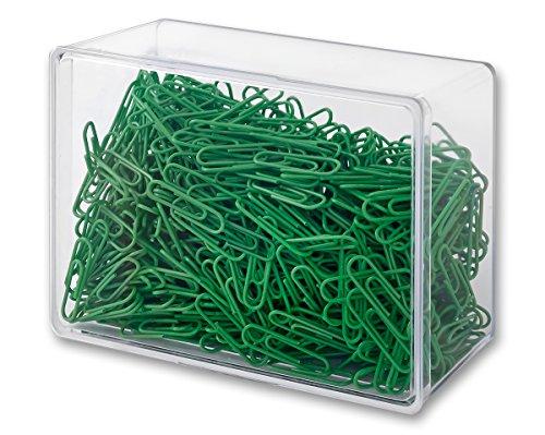 Victory Office Products 6028KP800-15 Büroklammern 28 mm 800 Stück grün kunststoffummantelt
