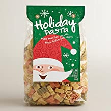 Holiday Pasta with Christmas Shapes