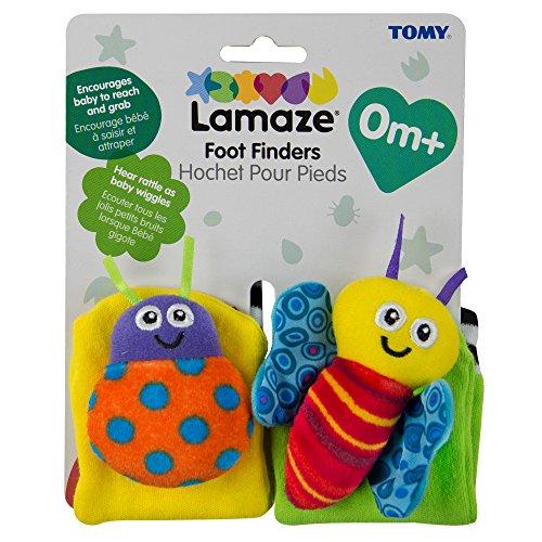 Lamaze 27091 - Calcetines para estimulación motora del bebé [Importado de Alemania]