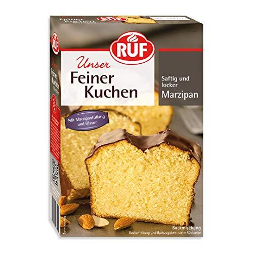 RUF Feiner Marzipankuchen mit Füllung und Kakaoglasur (1 x 495 g)