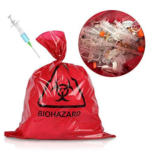 Steellwingsf Einweg-umweltfreundlicher Müllsack, Hochleistungskrankenhaus Biohazard Supplies Müllsack Müllsack M.None