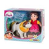 Studio 100 700012251 - Puppen-Set, 2-teilig - Heidi und Bernhardiner Josef