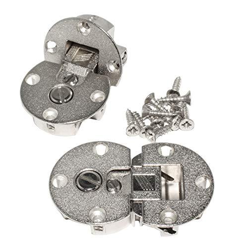HKB ® Klappenscharnier Markant 11, 90°, ø 35 mm, Zinkdruckguss vernickelt, 2 Stück, Hersteller Hettich 9100006