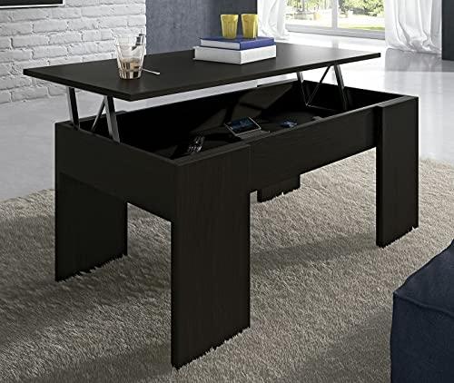 Mesa de Centro Elevable Color Wengue/Blanco/Cambrian Disponibles ref-07
