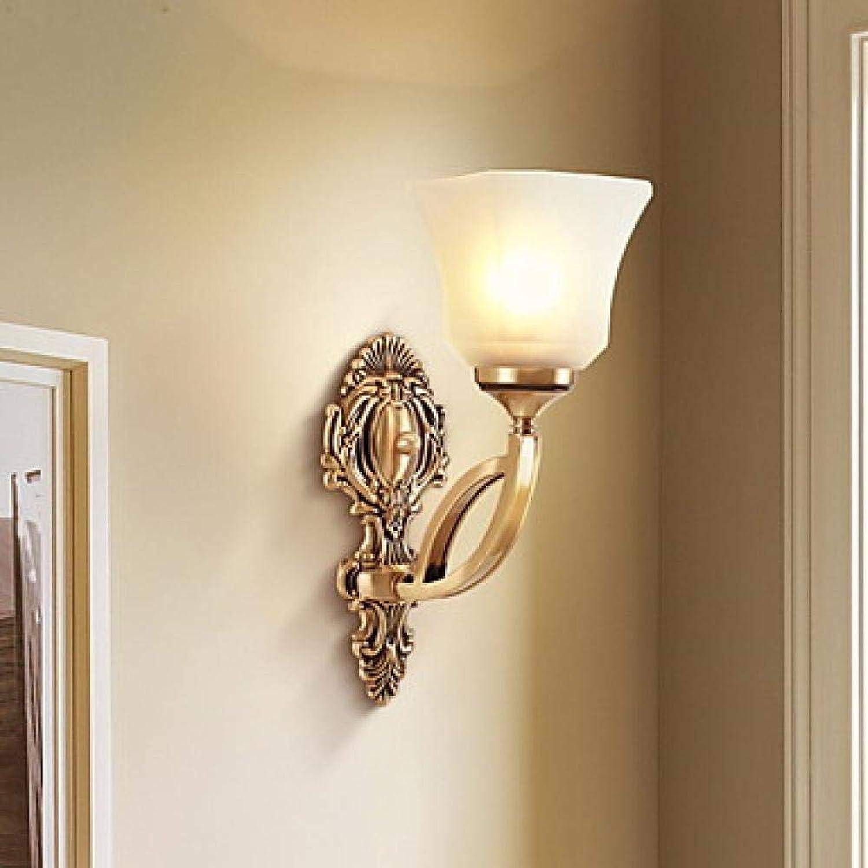 Wandlampe Anti-Glare Retro Wandlampe Und Wandlampe Wohnzimmer Korridor Metallwandlampe 40 Watt Nachttischlampe