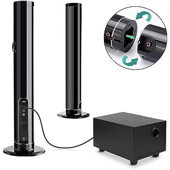 Barra de Sonido, Fityou Altavoz Inalámbrico Bluetooth para TV con ...