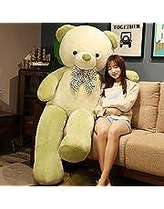 60-120cm härlig jätte amerikansk björn plysch leksak fyllda djur nallebjörn docka kudde barn flickor populär alla hjärtans födelsedagspresenter