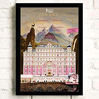 The Grand Budapest Hotel Movie Poster Prints Unframed Wall Art Decor,16.5