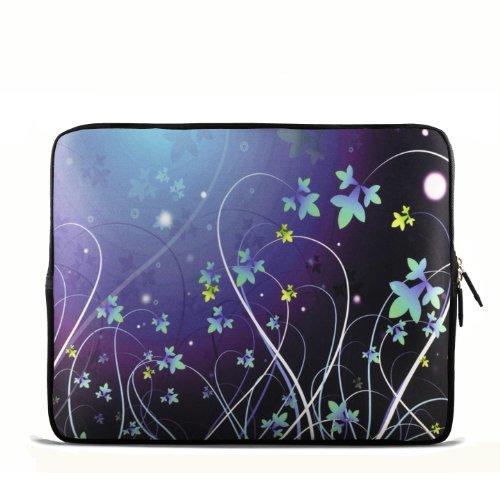 Zoll Notebook Netbook Tablet 24,64 cm 25,4 cm 25,65 cm 25,91 cm Tragetasche für iPad 2 3/Asus EeePC 10 transformer/Acer Aspire eine/Dell inspiron mini/Samsung N145/Toshiba/Kindle DX/Lenovo S205/HP Touchpad mini 210 - Blau Blume B10-981