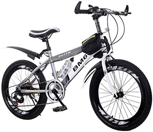 IMBM Bicycles Children's Student Bicycle Summer Bicycle Suitable Outdoor Bicycle Mountain Cross Country Car Very Cool Bicycle Suitable for Boys and Girls from 3 to 15 Years
