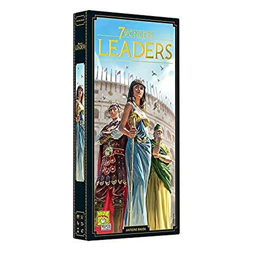 Asmodee 7 Wonders - Leaders (Auflage 2020), Erweiterung, Kennerspiel, Strategiespiel, Deutsch