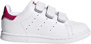 adidas Unisex-Child Boys Stan Smith CF I - K Stan Smith Cf I White Size: 6 Big Kid