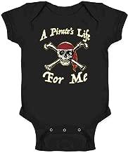 Pop Threads A Pirate's Life for Me Skull Halloween Costume Infant Baby Boy Girl Bodysuit