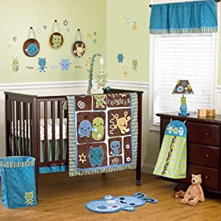 Cocalo 8 Piece Crib Set, Peek A Boo Monsters (Discontinued by Manufacturer)