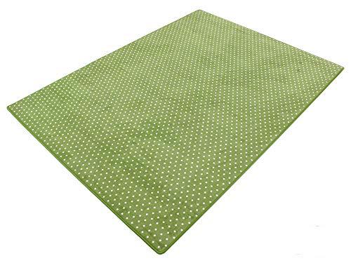 HEVO Vorwerk Bijou Petticoat grün Teppich   Kinderteppich   Spielteppich 200x250 cm Sonderedition