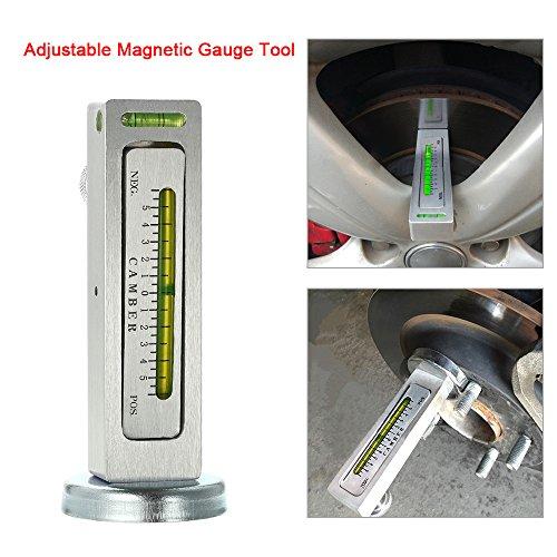 NEUE Einstellbare Magnetische Gauge Tool Camber Castor Strebe Rad Ausrichtung Lkw Auto