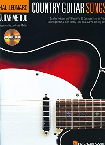 Hal Leonard Guitar Method : Country Guitar Songs: Lehrmaterial, CD für Gitarre (Hal Leonard Guitar Method (Songbooks))