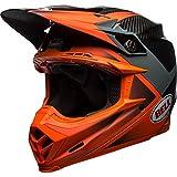 BELL - Casco Moto-9 Flex Hound, misura XL, colore: Arancione/Carbone