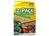 2 Pack Kids Card Games Go Fish & Slap Jack by Bicycle