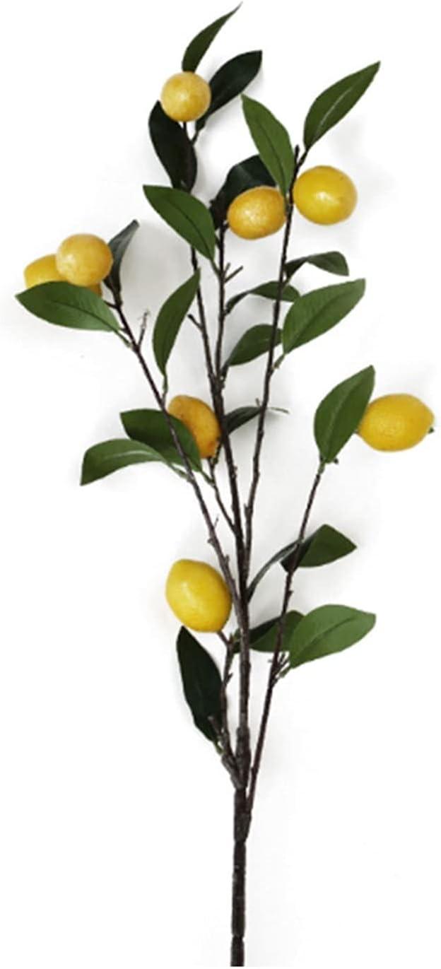Selling rankings JSJJEDC Max 77% OFF Artificial Fruit Hawthorn Mango Lemon B