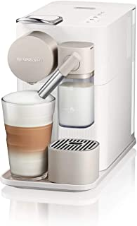 DeLonghi 全自动胶囊咖啡机 美式意式一键花式家用咖啡机 EN500.W 白色