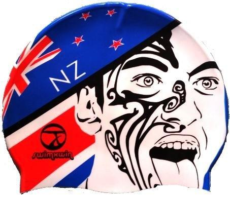 Gorro de silicona New Zealand | Gorro de Natación| Alta comodidad y adherencia | Diseño y estilo italiano