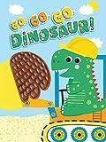 Go, Go, Go, Dinosaur - Silicone Touch and Feel Board Book - Sensory Board Book