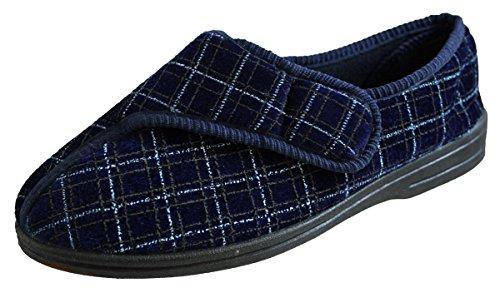 Surf4Shoes - Zapatillas de Estar por casa de sintético para Hombre Az