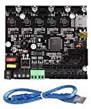 BIGTREETECH New Upgrade SKR E3 Turbo Control Board 32Bit with 5pcs TMC2209 UART Driver Silent Motherboard 3D Printer Parts for Creality Ender3 (Be Equal to SKR V1.4 Turbo with TMC22095)