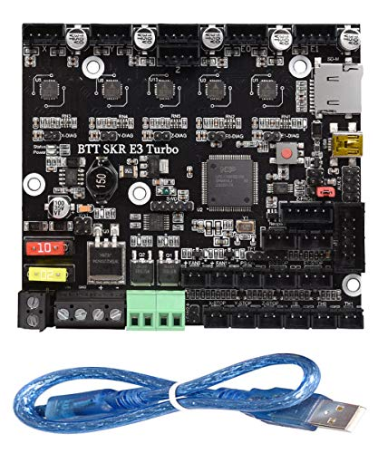 BIGTREETECH SKR E3 Turbo New Upgrade Control Board 32Bit with 5pcs TMC2209 UART Driver Silent Motherboard 3D Printer Parts for Creality Ender3