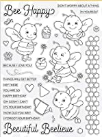 honeybee Transparent Clear Silicone Rubber Stamp Seal DIY Scrapbooking photo Album A0751