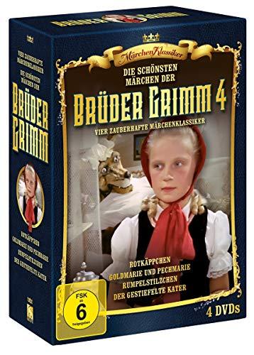 Die schönsten Märchen der Brüder Grimm - Box 4 [4 DVDs]