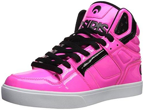 Osiris Men's Clone Skate Shoe, neon/Brights/Pink, 11 M US