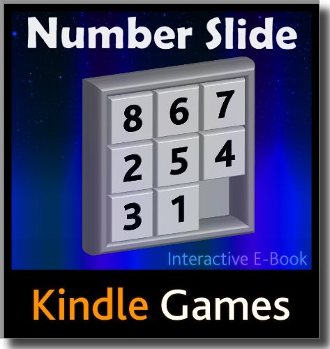 Number Slide E-Book Game (8 Puzzle) Free Download Available Worldwide (aka Eight Puzzle, 9 Puzzle, Nine Puzzle, Boss Puzzle) (WiFi/3G NOT required, Interactive eBook Content) (English Edition)