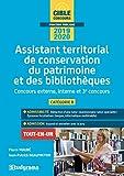 Assistant territorial de conservation du patrimoine et des bibliothèques - Concours externe, interne et 3e concours, catégorie B