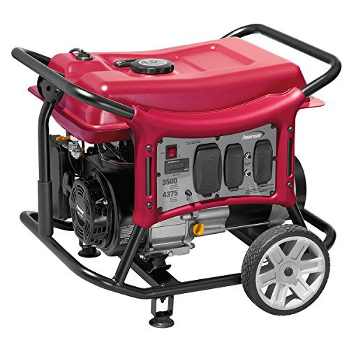 Powermate PMC143500 3500 Watt Gas Powered Portable Generator