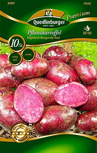 PFLANZKARTOFFEL LunaRossa 5 kg Pflanzkartoffeln ROT zertifiziert Saatkartoffel