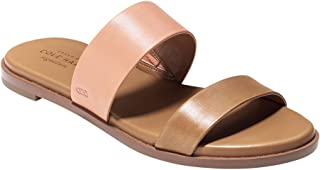 Cole Haan Women's FINDRA Sandal, Pecan/Nectar Leather, 10 B US