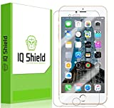 IQ Shield Screen Protector Compatible with iPhone 7 Plus (Maximum Coverage) LiquidSkin Anti-Bubble Clear Film