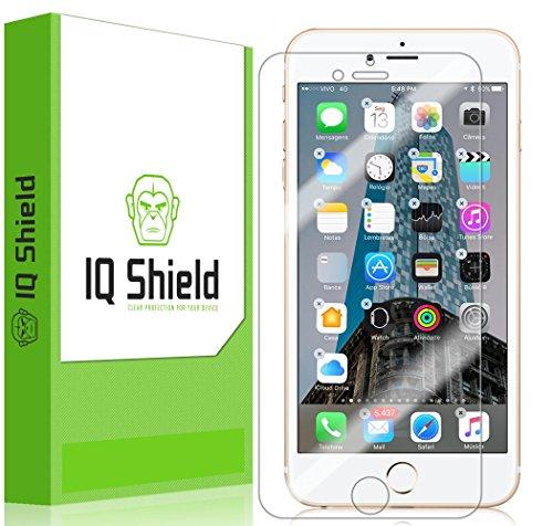 IQ Shield Screen Protector Compatible with iPhone 7 Plus (Maximum Coverage) LiquidSkin Anti-Bubble Clear Film